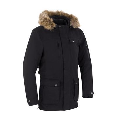 Veste textile à capuche Bering Artefact noir