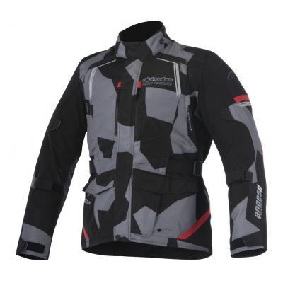 Veste textile Alpinestars Andes V2 Drystar camo noir/rouge