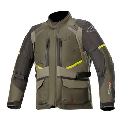 Veste textile Alpinestars Andes V3 Drystar forest/militaire/vert