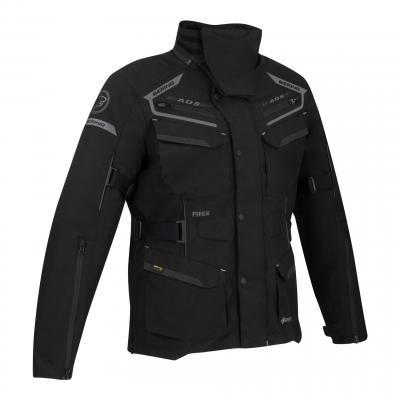 Veste textile Bering Minsk noir/gris