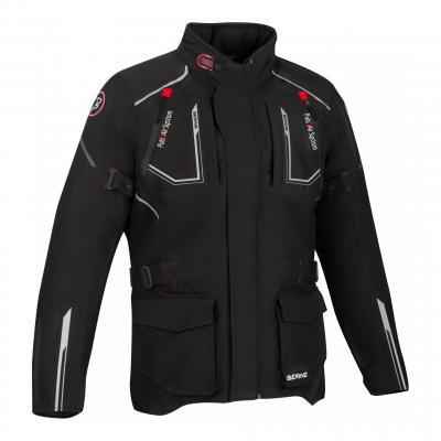 Veste textile Bering Oural noir