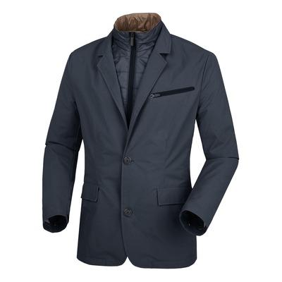 Veste textile Blazer Tucano Urbano Manzoni bleu foncé