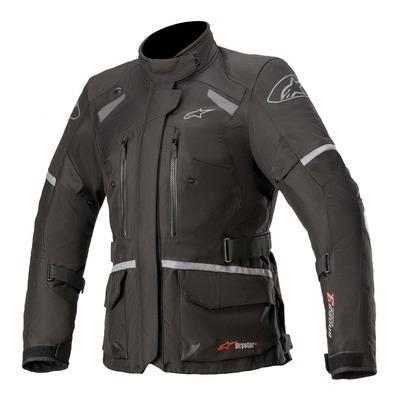 Veste textile femme Alpinestars Stella Andes V3 Drystar noir/gris/gris