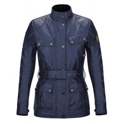 Veste textile femme Belstaff CLASSIC TROPHY LADY bleu marine