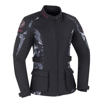 Veste textile femme Bering April noir/camouflage