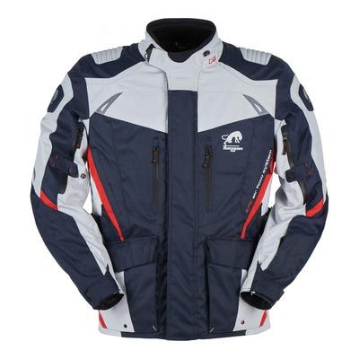 Veste textile Furygan Apalaches bleu/perle/rouge (compatible airbag Furygan)