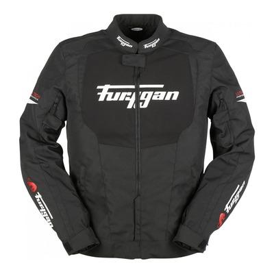 Veste textile Furygan Norman noir/blanc/rouge