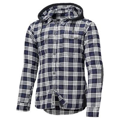 Veste textile Held Lumberjack bleu/blanche