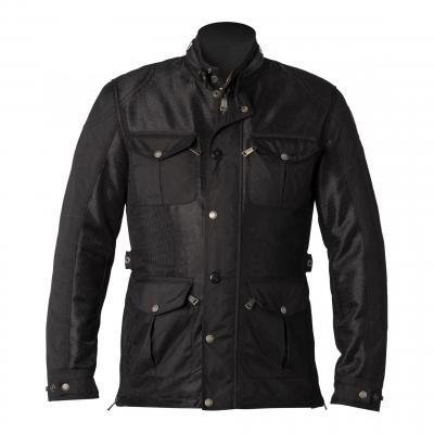 Veste textile Helstons Field Mesh noir