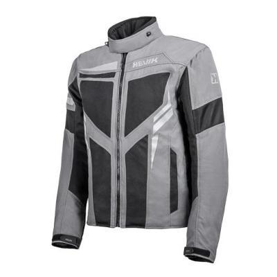 Blouson textile Hevik Ikaro gris/noir