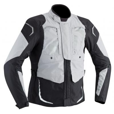 Veste textile Ixon CROSS AIR gris/noir