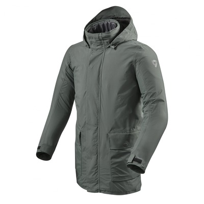 Veste textile Rev'it Willamsburg 2 graphite vert