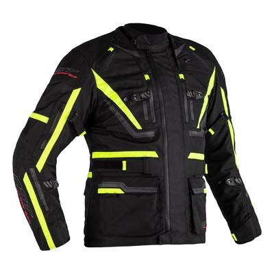 Veste textile RST Pro Series Paragon 6 Airbag noir/jaune fluo