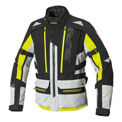 Veste textile Spidi Allroad H2Out jaune fluo/noir/Ice
