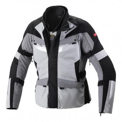 Veste textile Spidi Alpentrophy noir/gris