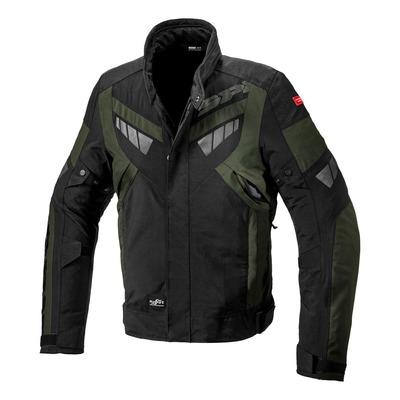 Veste textile Spidi Freerider H2Out vert foncé/noir