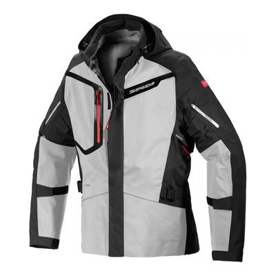 Veste textile Spidi Mission-T Shield noir/Ice