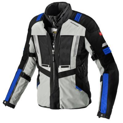 Veste textile Spidi Modular gris/bleu