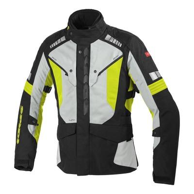 Veste textile Spidi Outlander jaune fluo/noir/Ice