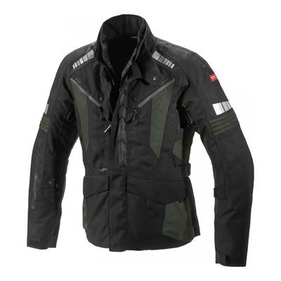 Veste textile Spidi Outlander vert foncé/noir