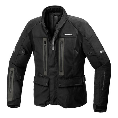 Veste textile Spidi Traveler 3 H2Out noir/gris