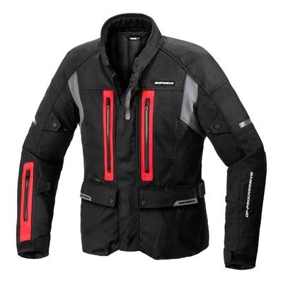 Veste textile Spidi Traveler 3 H2Out noir/rouge/gris