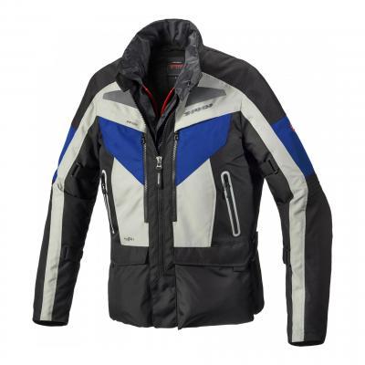 Veste textile Spidi Voyager Evo glace/bleu/noir