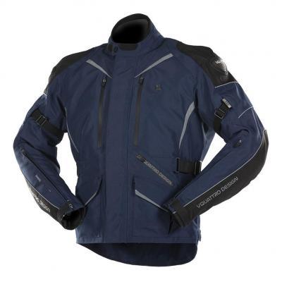 Veste textile V'Quattro Hurry navy