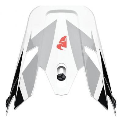 Visière casque cross Thor Sector Fader noir/blanc