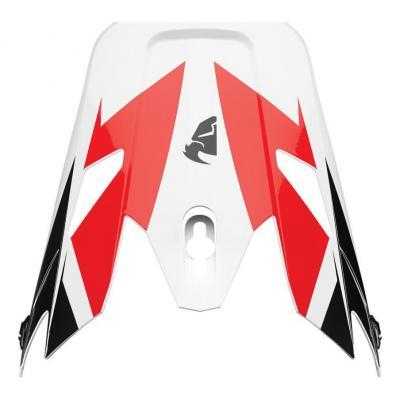 Visière casque cross Thor Sector Fader rouge/noir