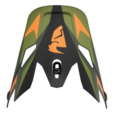 Visière casque cross Thor Sector Warship vert/orange