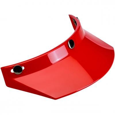 Visière de casque Biltwell à 3 pressions rouge