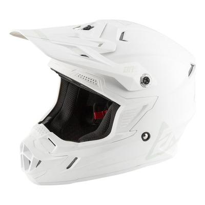 Visière de casque cross Answer AR1 blanc mat