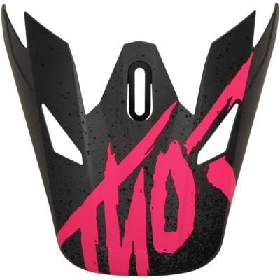Visière de casque Thor Sector Hype gris/rose