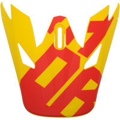 Visière de casque Thor Sector Levelrouge/jaune