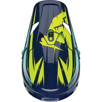 Visière de casque Thor Sector Warp navy/turquoise