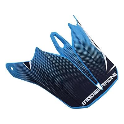 Visière pour casque Moose Racing Agroid bleu/navy