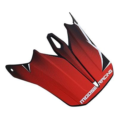 Visière pour casque Moose Racing Agroid rouge/noir