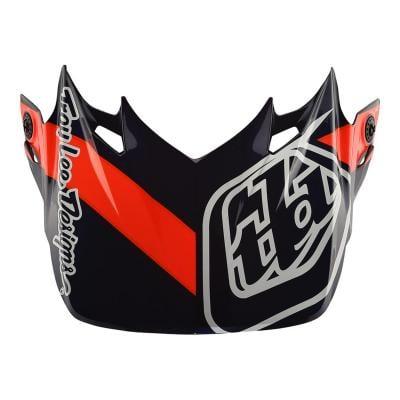 Visière Troy Lee Designs pour casque SE4 Streamline carbon navy/orange