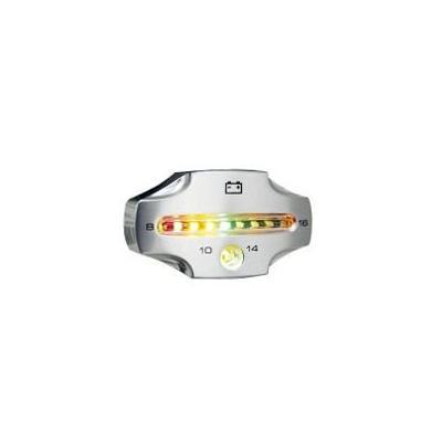 Voltmètre Koso CNC Argent