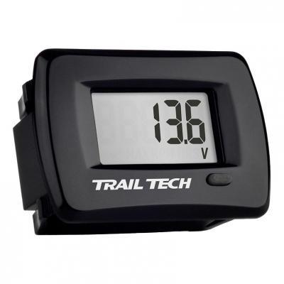 Voltmètre Trail Tech TTO noir encastrable