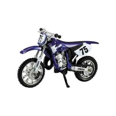 Yamaha 125 YZ 1:32 NewRay bleu/blanc
