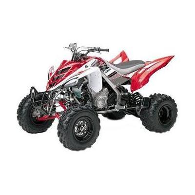 Yamaha quad 660 Raptor 2005 1:12 NewRay rouge/blanc