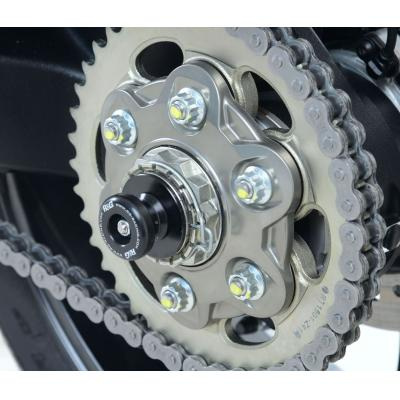 Tampons de bras oscillant diabolos R&G Racing noir Ducati Panigale 1299 V4 2018