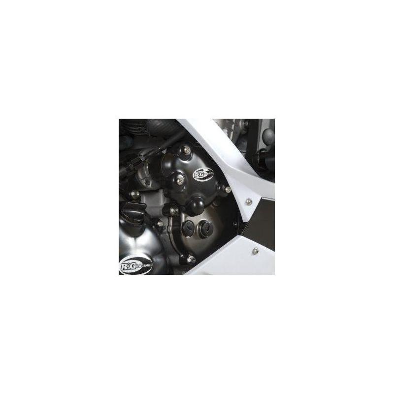 Couvre carter droit (démarreur) R&G Racing noir Kawasaki ZX-6R 09-17
