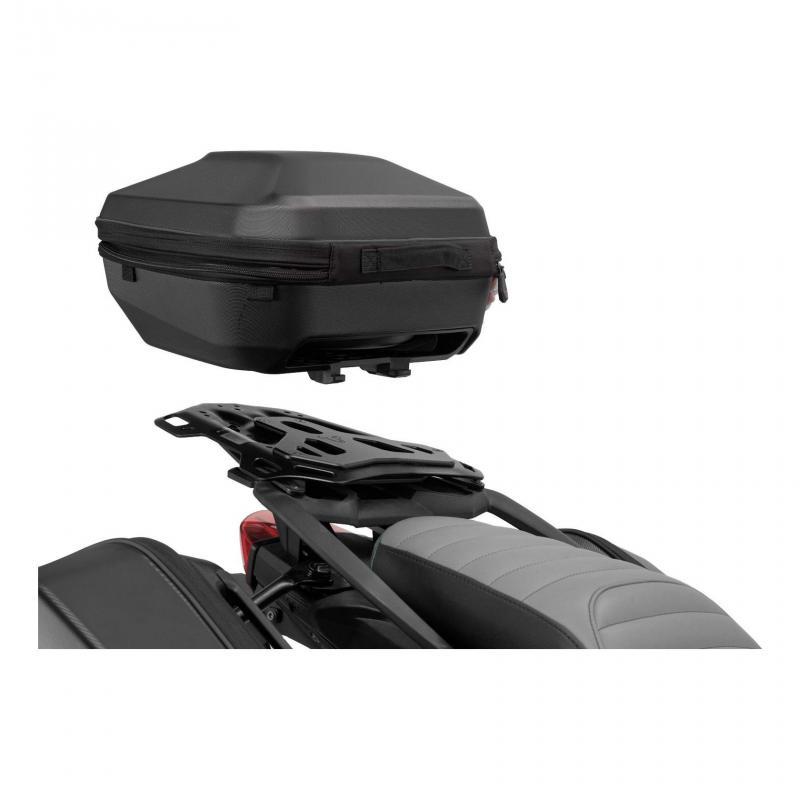 Top case SW-Motech Urban ABS noir avec porte-bagages ADVENTURE-RACK Yamaha XT1200Z Super Ténéré 10-1
