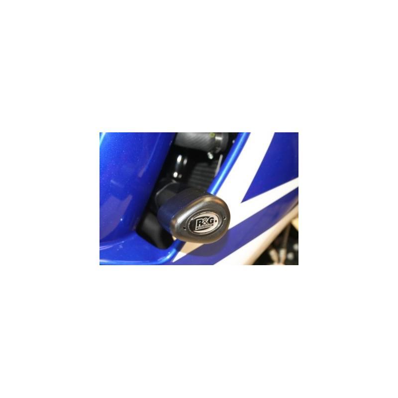 Tampons de protection R&G Racing Aero noir Suzuki GSX-F 650 08-09