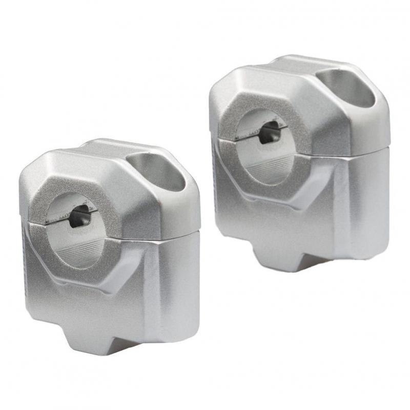 Réhausse de guidon SW-MOTECH guidon Ø22 mm gris