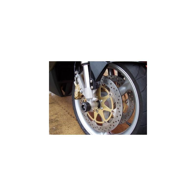 Tampons de protection de fourche R&G Racing noirs MZ S 1000 03-09