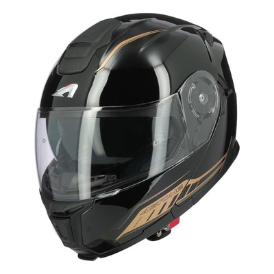 Casque modulable Astone RT1200 EVO Dark Side noir/or brillant